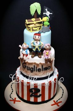 JAKE & THE NEVERLAND PIRATES CAKE