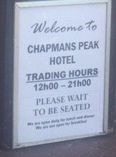 Chapmans Hotel.