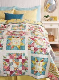 pintrest quilting | Posts similar to: crocheted star bright petals afghan-free pattern ...