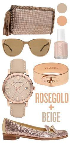 rosegold+beige