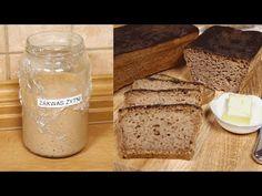 Jak zrobić zakwas na przepyszny razowy żytni chleb | #zakwas - YouTube Bread, Youtube, Food, Brot, Essen, Baking, Meals, Breads, Buns