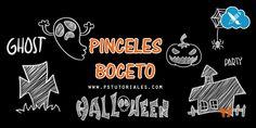Pinceles de bocetos de Halloween   PS Tutoriales