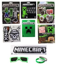 How to Plan a Minecraft Birthday Party http://momgenerations.com/2013/09/how-to-plan-a-minecraft-birthday-party/ #Minecraft OBSESSED with @Mike Watson