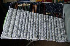 Tutorial Tuesday – Knitting Needle Case