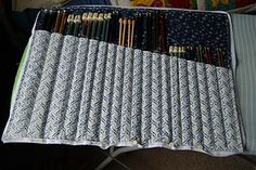 Tutorial Tuesday – Knitting Needle Case