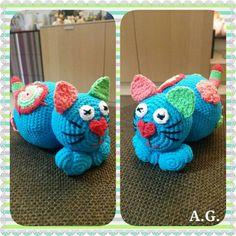 Amigurumi - cat - crochet