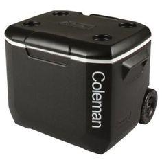 Coleman 60qt Wheeled Performance Cooler BlackWhiteBlack Liter 60 Qt -- Check out this great product.