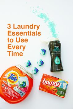 3 Laundry Essentials to Use Every Time + Win a Year's Supply!