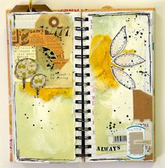 #art #journal Be tough be strong (by Magda)