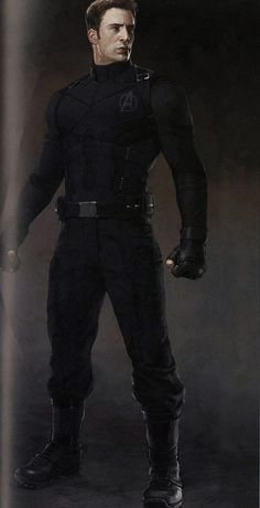 This was supposed to be Cap's suit in Winter soldier. This was the stealth suit Capitan America Marvel, Capitan America Chris Evans, Chris Evans Captain America, Marvel Captain America, Marvel Comics, Marvel Fan, Marvel Heroes, Marvel Avengers, Cody Christian