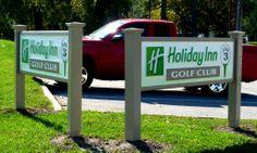 HDU golf club sign