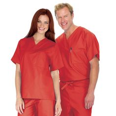"""4.5 STARS! From: Perth Amboy. Ager 18-24. Gender: Male. Works at: Hospital. """"Ordered me the light blue and red scrub top which fits perfect and look marvelous"""" I would recommend this to a friend"""