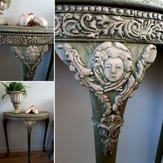 AS Antoinette, Chateau Grey and decor moulds IOD