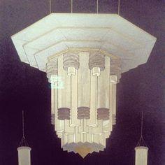 Affiche d'André Granet pour le salon de l'auto #artdeco #expo #paris instagram.com/p/ff3Lkws3LK/