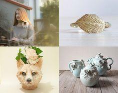 Gift guide woodland style #Atelier10team #giftidea #wonderland #woodland #etsy #finds #giftguide