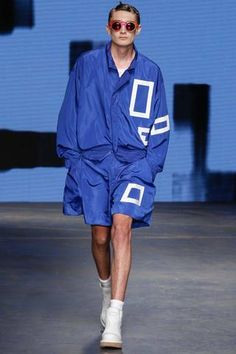 Christopher Shannon Spring 2015 Menswear Collection Slideshow on Style.com