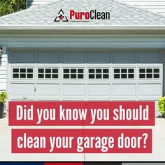 As summer winds down and you start prepping for the coming fall months, don't forget to clean and lubricate your garage door to clear out any dirt that may have been brought in by summer winds and storms.