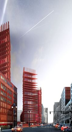 'Redesigning Detroit: A New Vision for an Iconic Site' Winning Proposal / Davide Marchetti Architetto