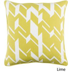 Surya Decorative 18-inch Appia Down or Polyester Filled Throw Pillow (