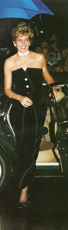 The Premiere that Princess Diana attended was in Aid of the Charities Relate(A Marriage Guidance Society)an NSPC.(National Society of Prevention of Cruelty to Children.)