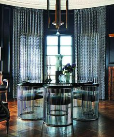 Dark and dramatic dining designed by Eric Cohler | japanesetrash.com