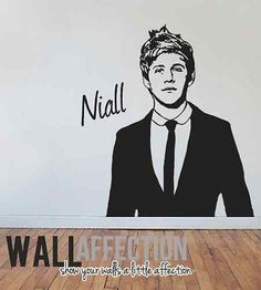 One direction - Niall Horan wall decal. Teens room? #1D