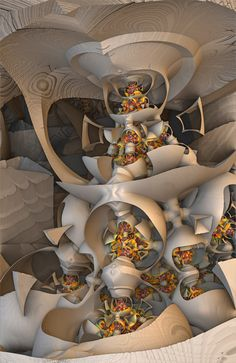 Fractal Art Mandelbulb 3d by taojoe.com  Also great fractal art by www.johnbrevard.com