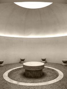 Hullebusch, Biennale Interieur 2018 by Nicolas Schuybroek Architects Sacred Architecture, Minimalist Architecture, Concept Architecture, Architecture Details, Interior Architecture, Interior Design, Spa Design, Meditation Space, Brick And Stone