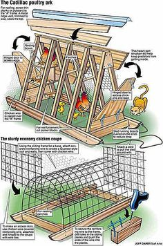 The Chicken Tractor Design DIY!