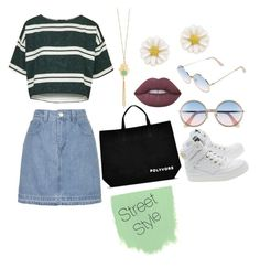 """""""#ContestOnTheGo #ContestEntry"""" by knockstyles on Polyvore featuring Topshop, Mishky, Kate Spade, Sunday Somewhere, Lime Crime, Moschino, contestentry and ContestOnTheGo"""