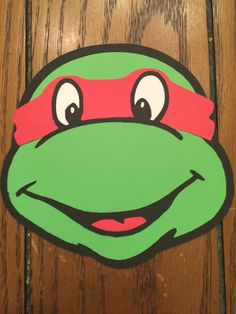 Caras de Teenage Mutant Ninja tortugas TMNT por SimplyBerryDesign