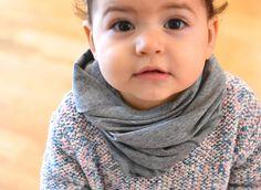 Loop Schlupfschal Baby von mien BABYmien // Stillschals und Kuscheliges für Dich und Dein Baby auf DaWanda.com