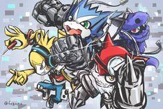 Digimon Universe, Musimon, Hackmon, Dokamon, Gatchmon, Appmon