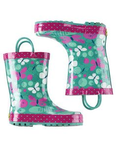Western Chief Butterfly Rain Boots    [[Elodie]]