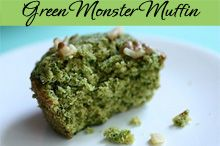 Green Monster Muffins (and you don't have to be a Red Sox fan to enjoy them!)