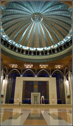 The Tuanku Mizan Zainal Abidin Mosque, (Iron Mosque or Masjid Besi) is the second principal mosque in Putrajaya, Malaysia, and was opened in by syafiqazim - x