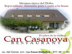 #recomanat a #Deltebre Can Casanova #restaurants