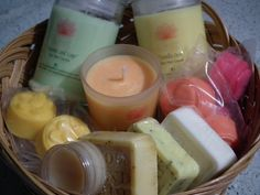 Fruity handmade hampers....organic soaps, lip balm, soy wax candles and melts.  https://www.facebook.com/pages/Luv-Lee-Creations