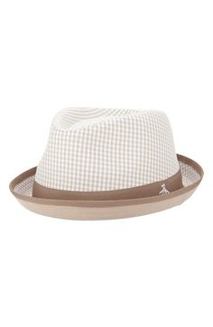 Men's Original Penguin 'Miramar' Gingham Check Fedora