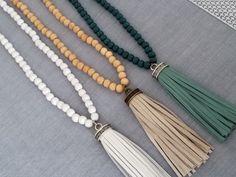 Tassel Necklace, Tassels, Minimalist, Jewelry, Fashion, Moda, Jewels, Fashion Styles, Schmuck