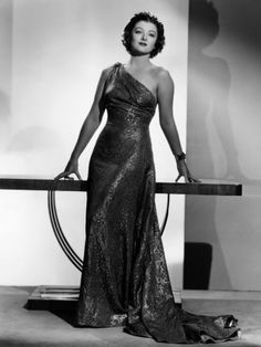 Myrna Loy (photo by Clarence Sinclair Bull)