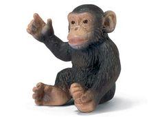 chimpanzee baby - Schleich