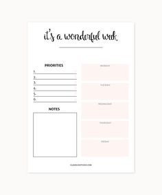 16 Printable Goal Sheets to Help You Stay on Track This ...