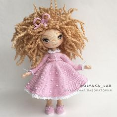 Irresistible Crochet a Doll Ideas. Radiant Crochet a Doll Ideas. Crochet Fairy, Crochet Doll Dress, Knitted Dolls, Crochet Doll Tutorial, Crochet Doll Pattern, Crochet Food, Crochet Hats, Crochet Quilt, Amigurumi Patterns