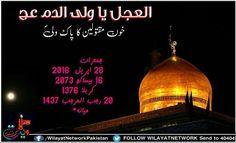 "ALAJAL ALAJAL YA WALI DAMM ""Khoon e Maqtoolen Ka Pak Wali"" AJTF _ Thursday 28-April-2016 16-Besakh-2073 Karbala-1376 20-Rajab-1437 Meyana"