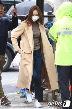 F(x) Krystal fashion going to Music Bank [151113]