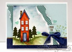 A La Pause: Comme Chez Nous - Holiday Home, Marie-Josée Trudel Stampin' Up! SU