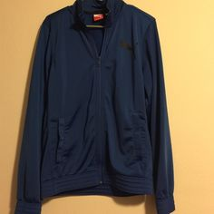 Blue Puma Jacket Perfect condition! Puma Jackets & Coats