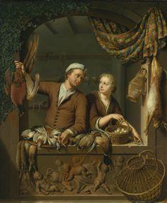 Willem van Mieris | THE POULTERER'S SHOP | Sotheby's