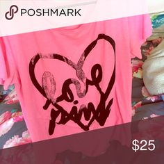 SOMEONE TRADE W ME  No flaws PINK Victoria's Secret Tops